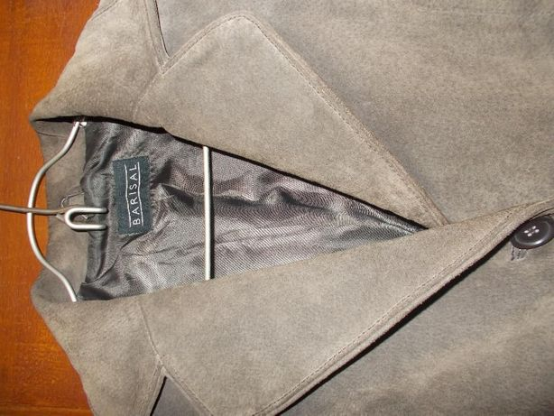 Пиджак из замши женский