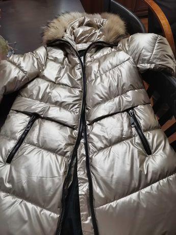 Дамско, много красиво и топло зимно яке