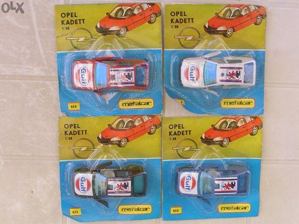 Нови 1/43 Opel Kadett Опел Кадет - Стари Унгарски Метални Колички От 8