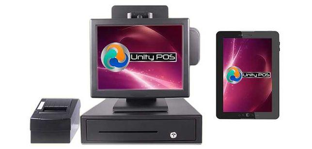 Sistem Bar Gestiune+Vanzare: PC+touchscreen+soft Unity POS Restaurant