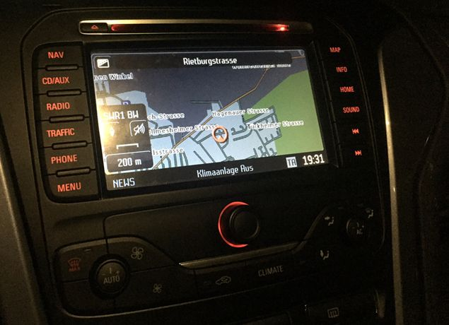 Ford DVD NX harti GPS Europa + Romania C-Max Focus Kuga Galaxy S-Max