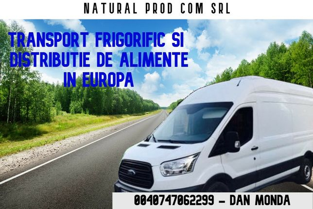 Transport frigorific Distributie alimente in Germania!