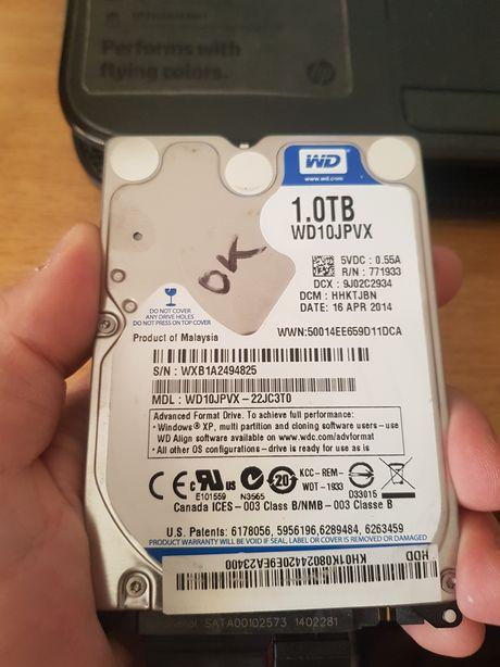 Hard disk laptop HDD laptop WD Western Digital 1000 GB 1TB
