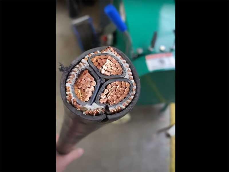 Белачка за ел.кабели 2-45мм за извличане на чиста мед/алуминий