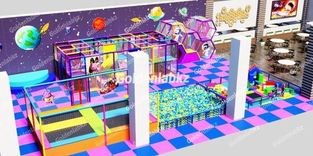 Аттракционы, детские игровые лабиринты от производителя! Батуты, горки