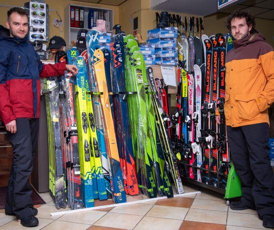 Echipamente NOI Ski de tura (Schiuri, legaturi, clapari, piei foca)
