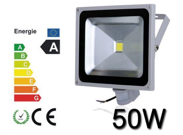 Proiector Plasma LED 50W echivalent 500W cu Senzor miscare lumina