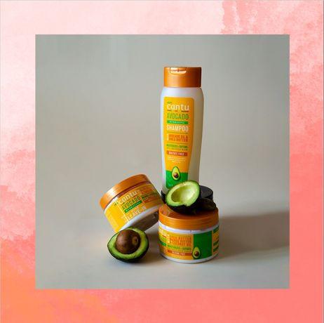 Sampon - leave in - curling cream speciale pt parul cret