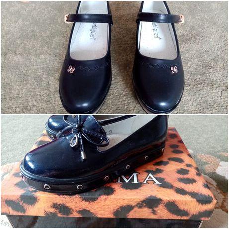 Туфли для девочек 34размер