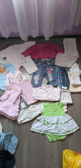 Лот детски дрехи размер 68 см
