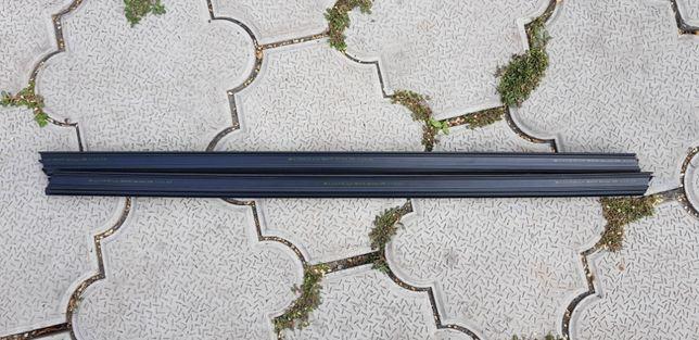 Внутренние планки shadow-line бмв е39, оригинал, новые