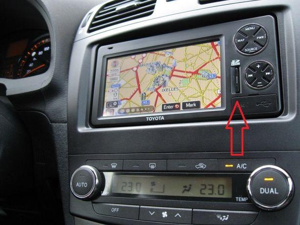 Card navigatie Toyota TNS350 Europa 2020 Auris Avensis Corolla RAW4