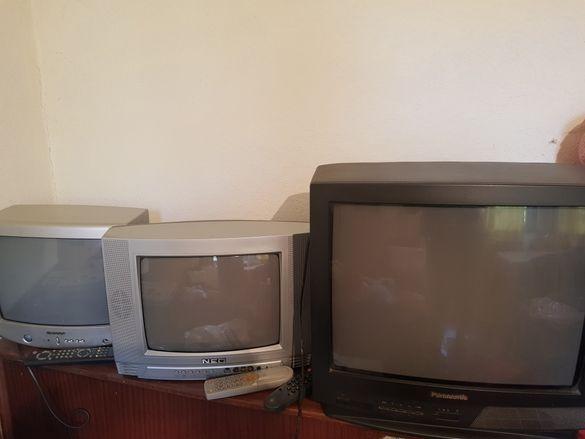 Телевизор - малък и голям.