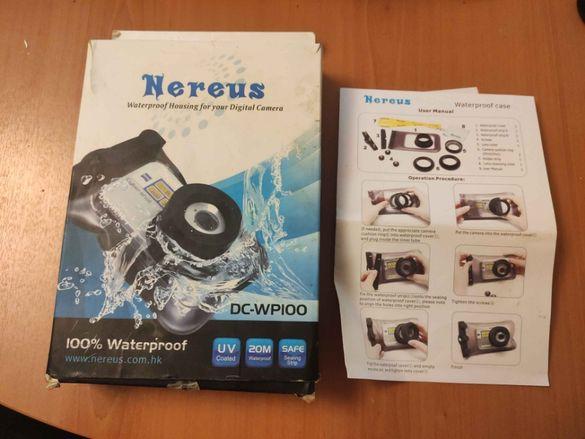 НОВ Пластичен калъф за подводно снимане Nereus DC-WP100