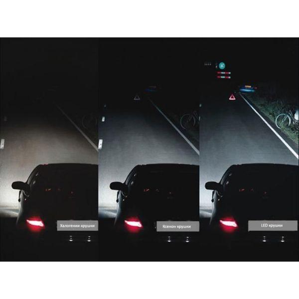 "Диодни LED крушки за фарове H11 ""NIKEN"" EVO 6000L 5500K гр. Пещера - image 1"