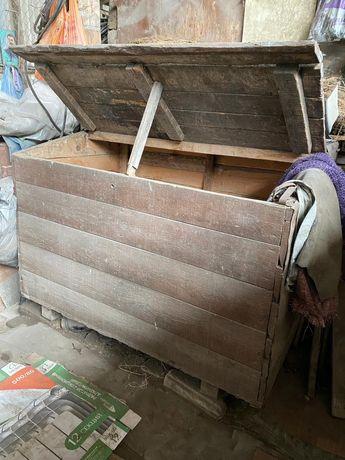 Ларь деревянный под сыпучие