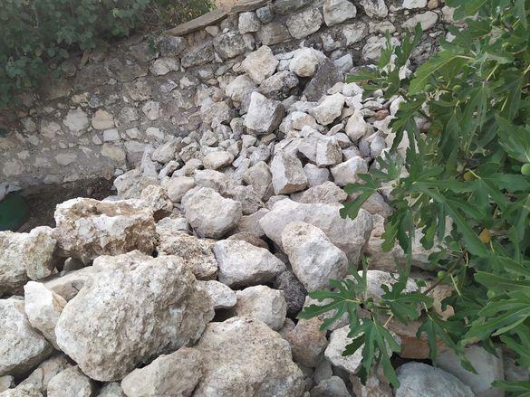 камъни варовикови бели