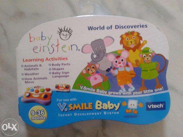 cartus cu jocuri pentru Vtech V.smile Baby -NOU