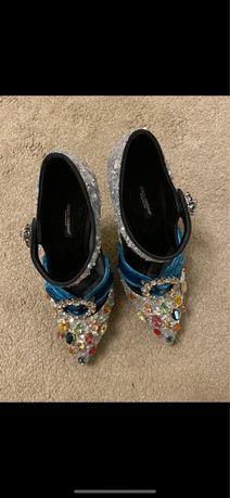 Pamtofi dolce gabana marimea 36