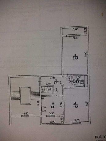 Продается 2-х квартира в мкр.Алмагуль