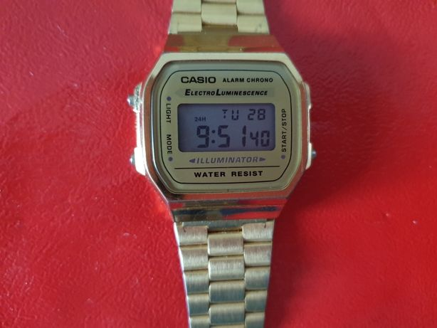 Casio Gold A 168