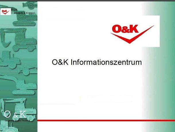 Orenstein Koppel Workshop Manual (O&K)