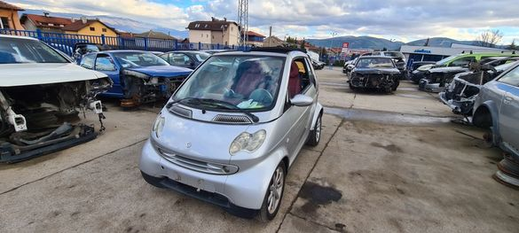 Smart Fortwo coupe на части