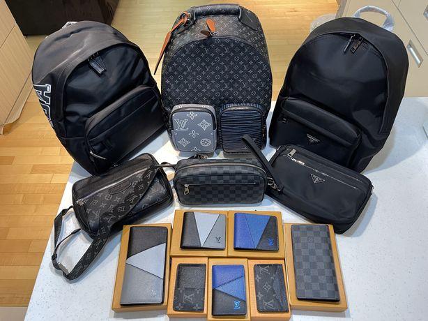 Мужские аксессуары|Louis Vuitton|Prada|Кошелек|Портмоне|Рюкзак|Сумка