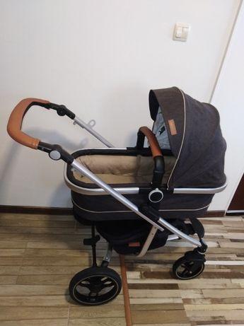 Комбинирана количка CHIPOLINO malta 2в1 графит