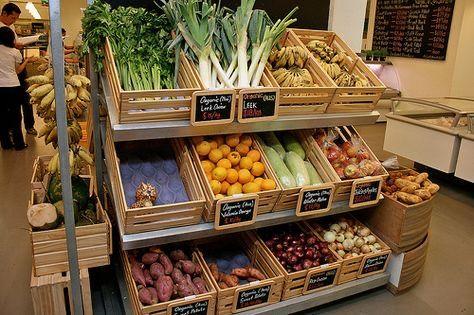 Сдается место в магазине под продажу овощей.