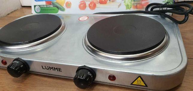 Плита электрическая LUMME LU-3619  Мощность 2,5 кВт