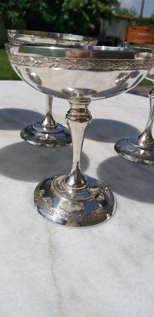 6 Pahare din Argint