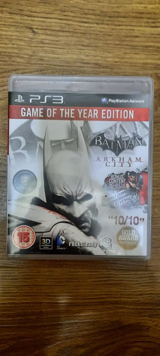Batman Arkham City GOTY Edition & Batman Arkham Origins Jocuri pt PS3 Bucuresti - imagine 1