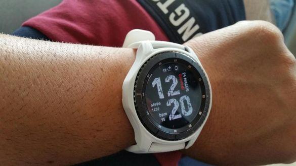 Samsung gear s3 frontier Като Нов!!Full pack!!