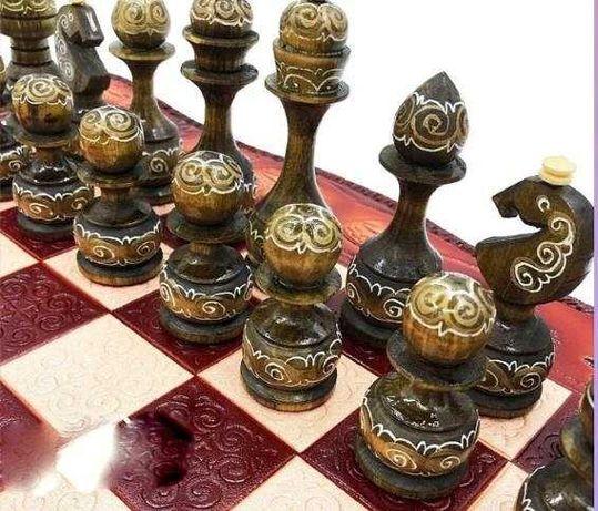 Шахматы шашки нарды люкс класса