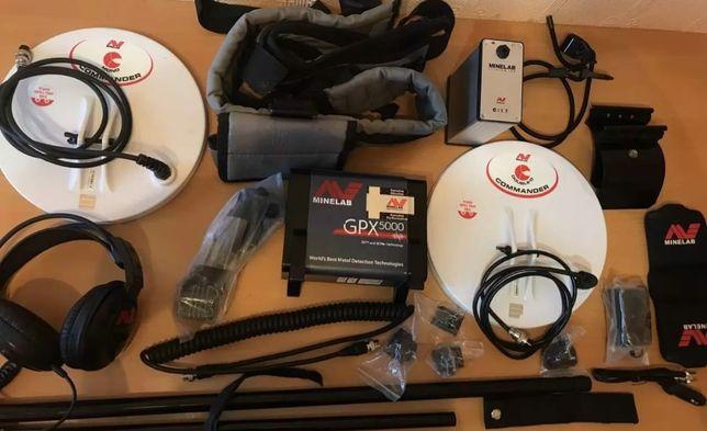 Металлоискатель minelab gpx 5000 новый