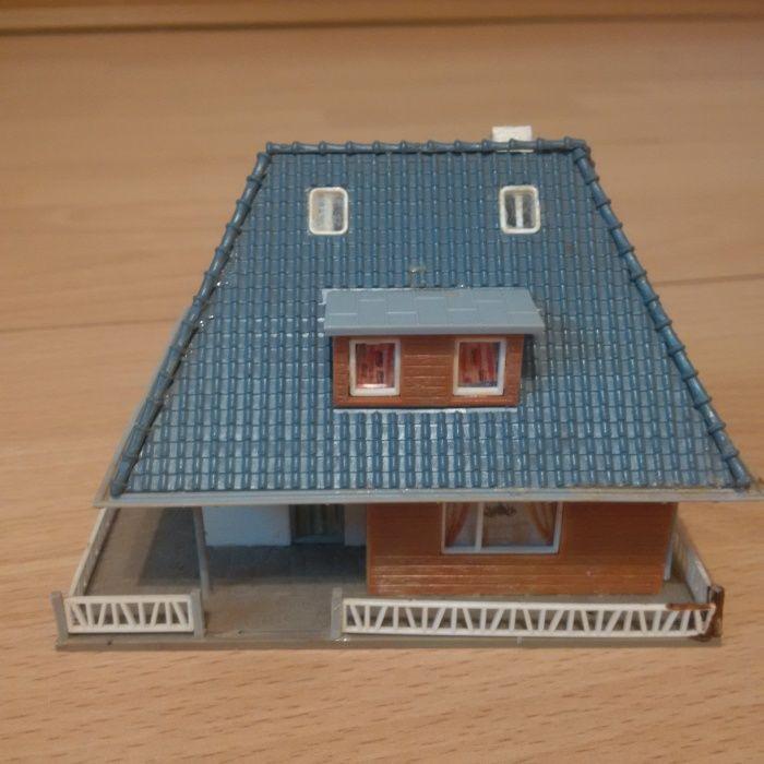 Casa 12 scara HO, FALLER, KIBRI, VOLLMER - Diorama - Trenulet Electric Alba Iulia - imagine 1
