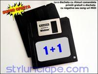 Dischete Floppy cu ritmuri pentru orga - KORG, Yamaha, Roland, Casio