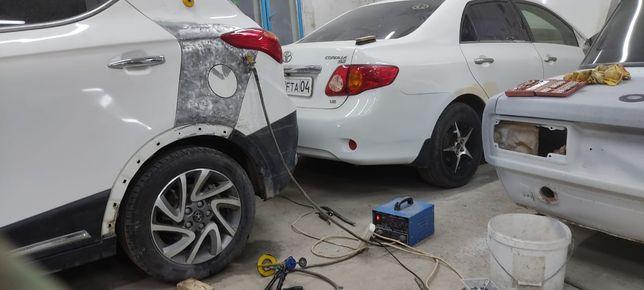 РИХТОВКА и покраска полировка АВТО ремонт бампера