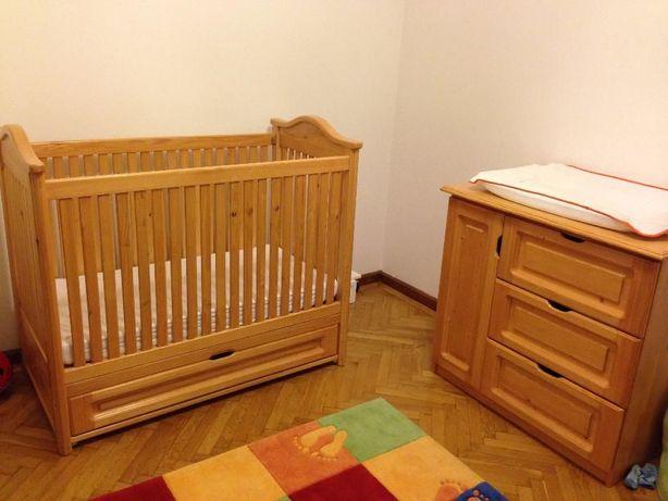 Producator mobila patut copil din lemn masiv, discount