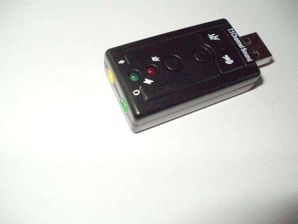 Placa audio,placa de sunet USB