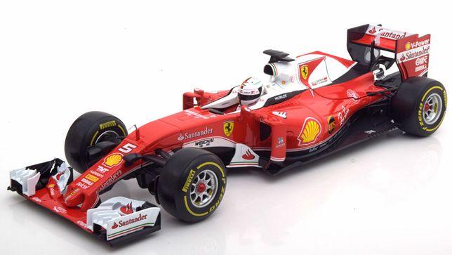 Macheta Ferrari SF16-H F1 Sebastian Vettel Formula 1 2016-Bburago 1/18