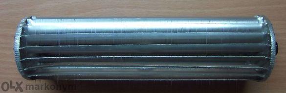 Алуминиев ценробежен компресор-турбина .