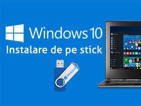 Service iT / instalare windows 10 / configurare routere / reparatii pc