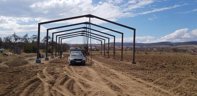 Hale si structuri metalice cu diverse marimi si forme: 12x22