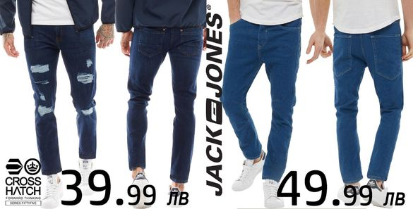 Дънки Jack&Jones W36 L32, CROSSHATCH W36 L32