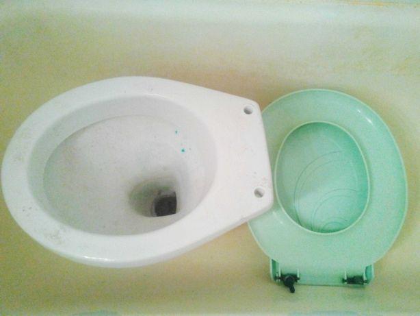 Vas Toaleta WC + Capac + tub flexibil