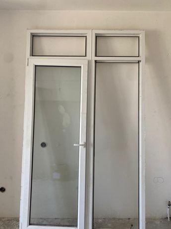 Окно с балконной дверью