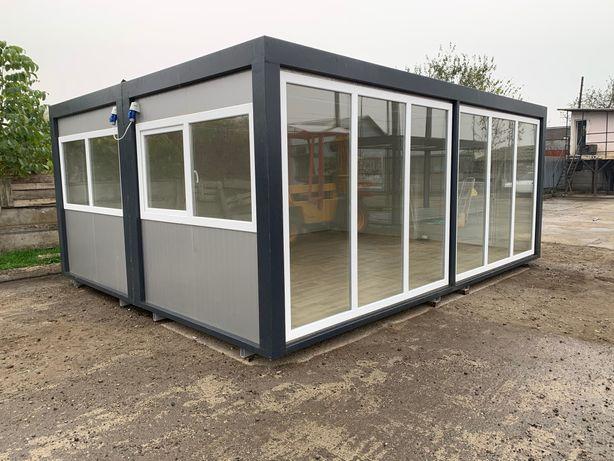 Container casa modular depozit birou grup sanitar ieftin