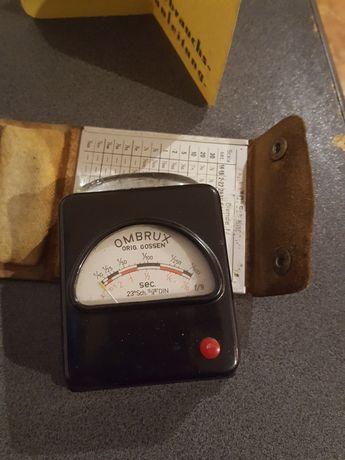 Aparata de masurat intensitatea blitului vintage ani 30 ombrux